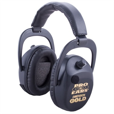 Sporting Clays? Gold? Series Electronic Muffs Gs-dsc Black Sporting Clay Gold Nrr 25 : Shooting Accessories by Pro Ears for Gun & Rifle