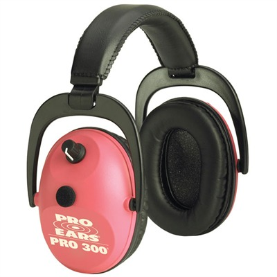 Pro Series 300 Headsets Pro 300 Nrr 26 Pink : Shooting Accessories by Pro Ears for Gun & Rifle