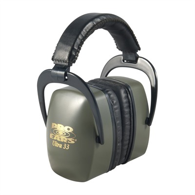Pro Ears Ultra? 33 Headsets Pro Ears Ultra33 Nrr 33 Green : Shooting Accessories by Pro Ears for Gun & Rifle
