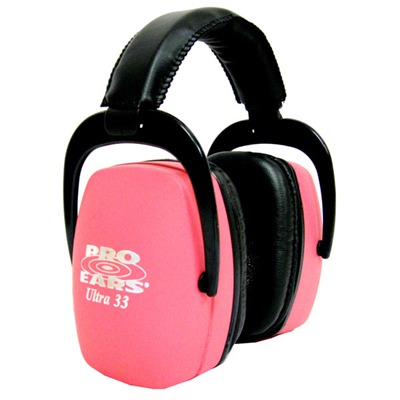 Pro Ears Ultra? 33 Headsets Pro Ears Ultra33 Nrr 33 Pink : Shooting Accessories by Pro Ears for Gun & Rifle