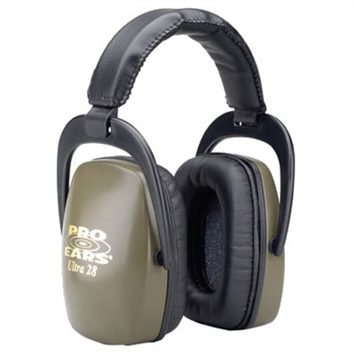 Pro Ears Ultra? 28 Headsets Pro Ears Ultra28 Nrr28 Green : Shooting Accessories by Pro Ears for Gun & Rifle