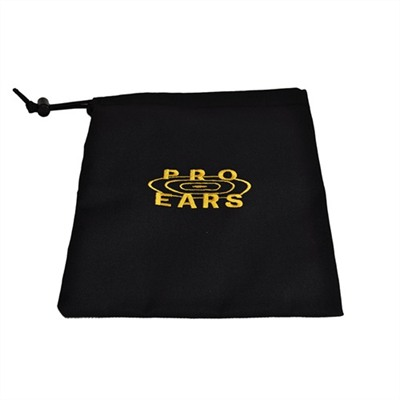 Pro Ears Carry Bags - Pro Ears Carry Bag Black W/Yellow