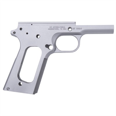 1911 Auto Single Stack Receiver 1911 Forged Frame W / 30lpi Checkering : Handgun Parts by Sti for Gun & Rifle