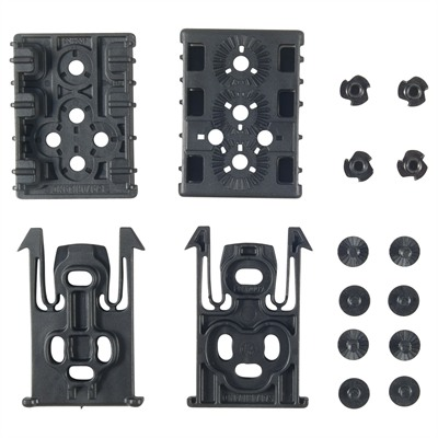 Equipment Locking System Kit For Els Belt - Black Equipment Locking System Kit