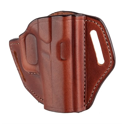 Bianchi (Safariland) #57 Remedy  Open Top Belt Slide Holster - #57 Remedy Open Top Glock 42 Tan Rh