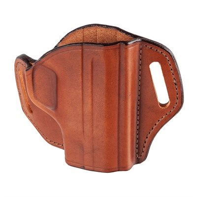 Bianchi (Safariland) #57 Remedy  Open Top Belt Slide Holster - #57 Remedy Open Top S&W M&P Shield Tan Rh