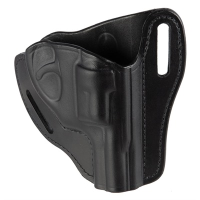 Bianchi (Safariland) #58 P.I.  Belt Slide Holster - #58 P.I. Belt Slide Ruger Lcr Black Rh