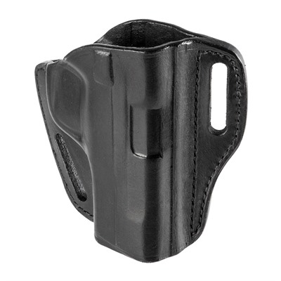 Bianchi (Safariland) #58 P.I.  Belt Slide Holster - #58 P.I. Belt Slide S&W M&P 9/40/45 Black Rh