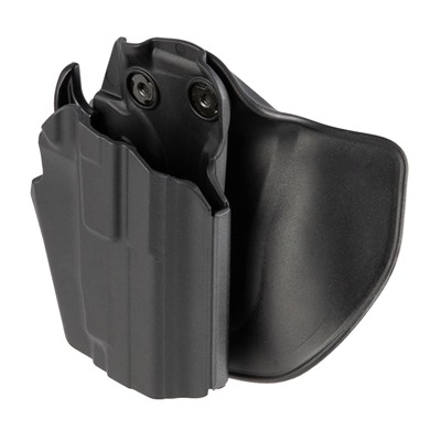 Safariland #578 7ts Gls Pro-Fit Paddle & Belt Loop Holster - #578 7ts Gls Pro-Fit Std Frame Sub-Compact Slide Black Rh