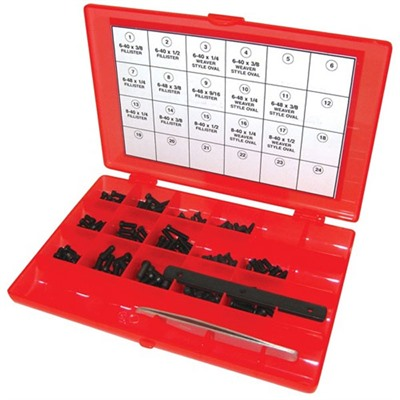 Tacstar Master Gunsmith Screw Kits - Master Gunsmith Screw Kit-142 Piece Kit