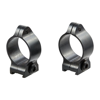"""Fixed Scope Rings - 1"""" Low Matte Blue Rings"""
