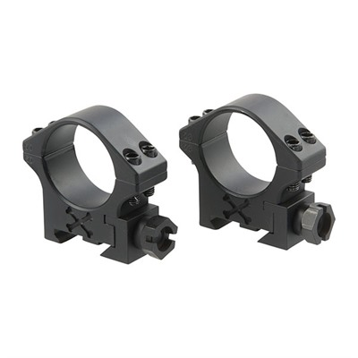Talley Tactical Scope Rings - 30mm Low Matte Black Tactical Rings
