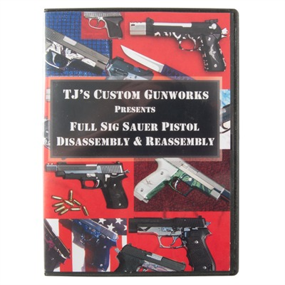 Tjs Custom 876-000-005 Sig Sauer Pistol-Assembly And Disassembly