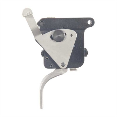 Timney Remington 700 Trigger W/Safety Straight Shoe Remington 700 Right Hand Straight Nickel Online Discount