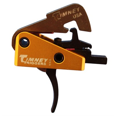 Timney 308 Ar Drop-In Trigger Module Solid Shoe - Ar .308 Trigger, 4 Lbs, Solid Shoe, Straight