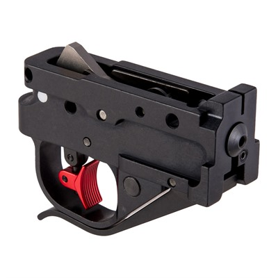 Timney Ruger 10 22 Calvin Elite Trigger Shoe Kits Ruger10 22 Calvin Elite Red Shoe Kit Black Housing