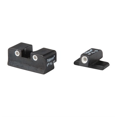 Tritium Handgun Sights - Spingfield Xd 3-Dot Front And Orange Rear Set
