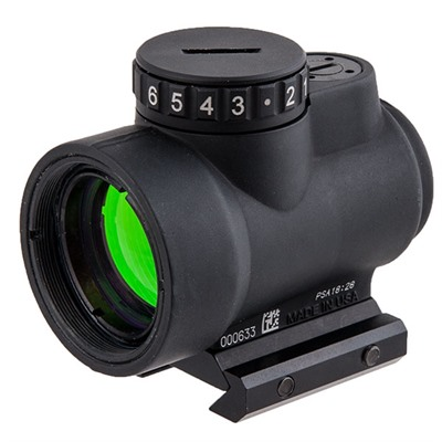 Trijicon Mro Red Dot Reflex Sight - 1x25 Mro 2 Moa Red Dot W/Low Mount