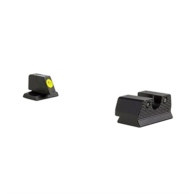 Trijicon Hd Xr Night Sights For Fnh - Hd Xr Night Sight Set-Fnh Fns 40, Fnx 40, Fnp 40-Yellow