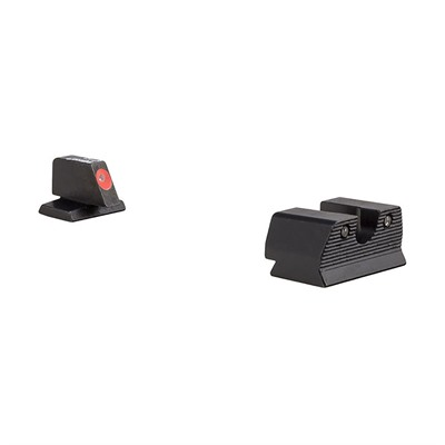 Trijicon Hd Xr Night Sights For Fnh - Hd Xr Night Sight Set-Fnh Fns 40, Fnx 40, Fnp 40-Orange