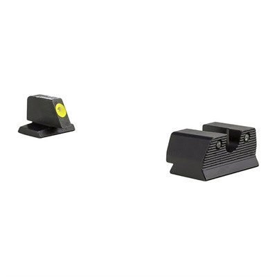 Trijicon Hd Xr Night Sights For Fnh - Hd Xr Night Sight Set-Fnh Fns 9, Fnx 9, Fnp 9-Yellow
