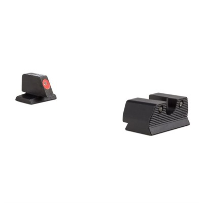 Trijicon Hd Xr Night Sights For Fnh - Hd Xr Night Sight Set-Fnh Fnx 45, Fnp 45-Orange