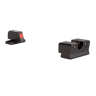 Trijicon Hd Xr Night Sights For Sig Sauer - Hd Xr Night Sight Set-Sig Sauer 9mm, 357 Sig Orange Front