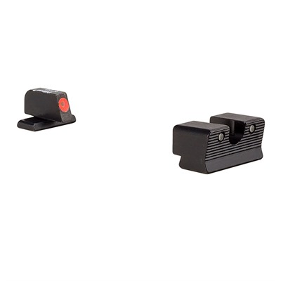Trijicon Hd Xr Night Sights For Sig Sauer - Hd Xr Night Sight Set-Sig Sauer 40s&W, 45acp Orange Front