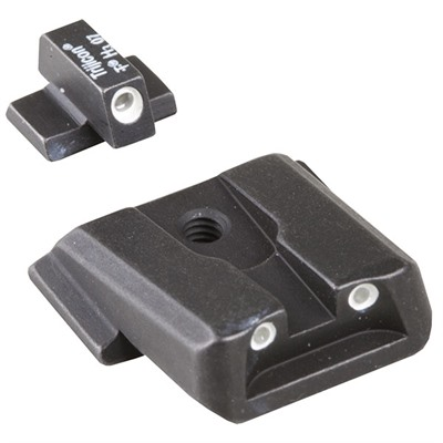 Tritium Handgun Sights #sa-37 3-dot Green Sight for M&p : Handgun Parts by Trijicon for Gun & Rifle