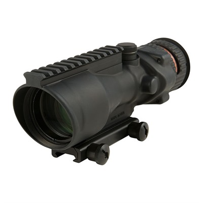 Trijicon Acog 6x48mm Rifle Scopes - 6x48 Red Chevron .223 Bac W/Ta75 Mount