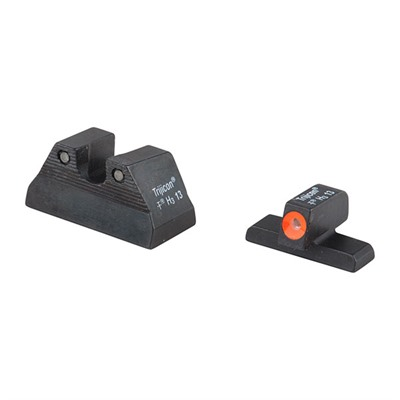 Trijicon Hk Usp Hd Tritium Night Sight Sets - Usp Hd Night Sight Set Orange Front Outline