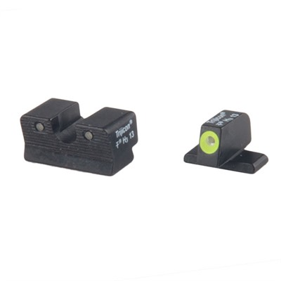 Trijicon Sig Sauer Hd Tritium Night Sight Sets - Sig 40 S&W & 45 Acp Hd Night Sight Set, Yellow Front Outline