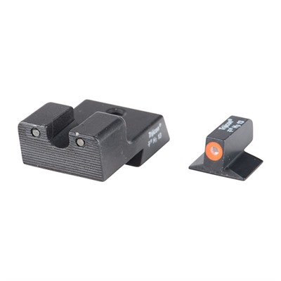 Trijicon 1911 Hd Tritium Night Sight Sets 1911 Novak Cut Hd Night Sight Set Orange Front Outline Online Discount
