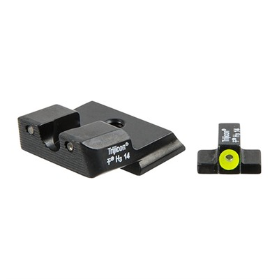Trijicon S&W M&P Hd Tritium Night Sight Sets - S&W M&P Shield  Hd  Night Sight Set - Yellow