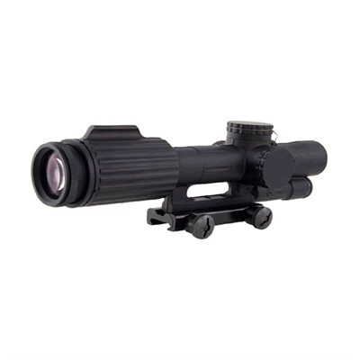 Trijicon Vcog Riflescope - 1-6x24mm Ffp Segmented Circle/Crosshair .223/77 Grain