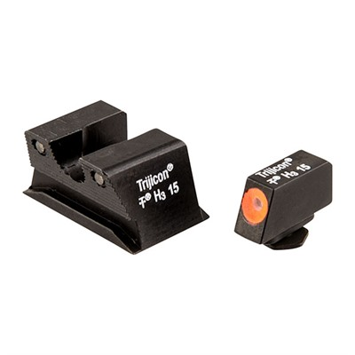 Trijicon Walther Pps/Ppx Hd Night Sight Sets - Walther Pps/Ppx Hd Night Sight Set, Orange Front