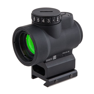 Mro™ (Miniature Rifle Optic) - 1x25 Mro 2.0 Moa Adj Red Dot W/Lower 1/3 Mount