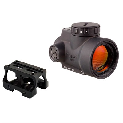 Trijicon Mro With Battle Arms Lightweight Mount - Trijicon Mro With Absolute Cowitness Mount