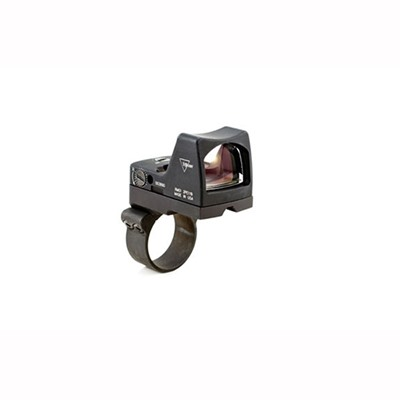 Trijicon Rmr Type 2 Rm02 6.5 Moa Led Reflex Sight With Rm36 Mount - Rmr Type 2 6.5 Moa Led Red Dot Sight W/Rm36 Mount