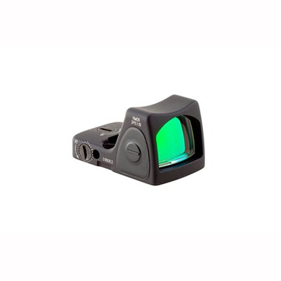 Trijicon Rmr Type 2 Rm06 3.25 Moa Adjustable Led Reflex Sight - Rmr Type 2 3.25 Moa Adj. Red Dot Led Sight Black