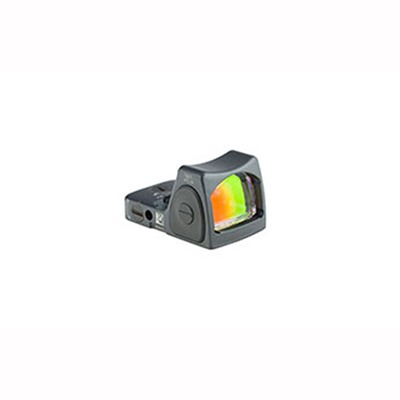 Trijicon Rmr Type 2 Rm06 3.25 Moa Adjustable Led Reflex Sight - Rmr Type 2 3.25 Moa Adj. Red Dot Led Sight Gray