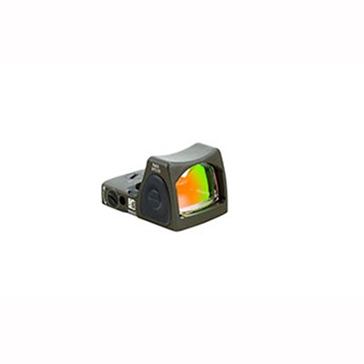 Trijicon Rmr Type 2 Rm06 3.25 Moa Adjustable Led Reflex Sight - Rmr Type 2 3.25 Moa Adj. Red Dot Led Sight Od Green