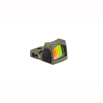 Trijicon Rmr Type 2 Rm06 3.25 Moa Adjustable Led Reflex Sight - Rmr Type 2 3.25 Moa Adj. Red Dot Led Sight Flat Dark Earth