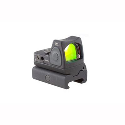 Trijicon Rmr Type 2 Rm07 6.5 Moa Adjustable Led Reflex Sight With Rm34w - Rmr Type 2 6.5 Moa Red Dot Led Sight W/Rm34w Weaver Mount
