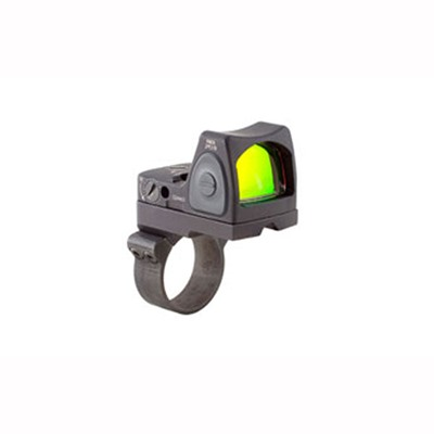 Trijicon Rmr Type 2 Rm07 6.5 Moa Adjustable Led Reflex Sight With Rm36 - Rmr Type 2 6.5 Moa Red Dot Led Sight W/Rm36 Mount