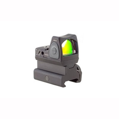 Trijicon Rmr Type 2 Rm09 1.0 Moa Led Reflex Sight With Rm34 Mount - Rmr Type 2 1.0 Moa Red Dot Led Sight W/Rm34 Rail Mount