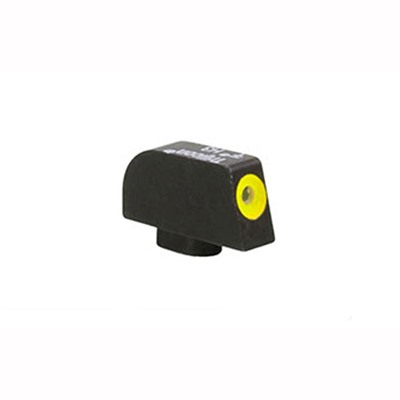 Trijicon Glock 10mm/45 Caliber Hd Xr Front Sight - Hd Xr Front Sight Yellow Outline Glock 10mm/45acp