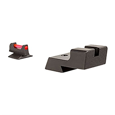 Trijicon 1911 Novak-Style Low Cut Fiber Sight Set