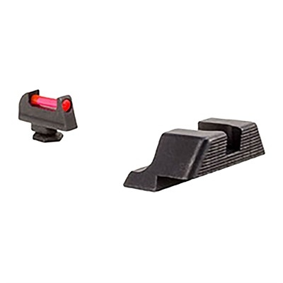 Trijicon Fiber Sight Set For Glock - Fiber Sight Set For Glock 10mm/45acp