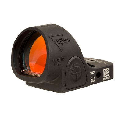 Trijicon Sro Adjustable Led Moa Red Dot - Sro Adj. Led 2.5 Moa Red Dot, Black